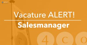 vacature salesmanager 4COM